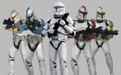 Clone Troopers Phase I