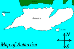 Megiddo Antarctic map