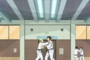 Members of the Judo Club