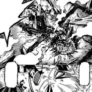 Zenkichi after Iihiko's attack