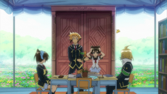 Mochibaru approaches the Student Council