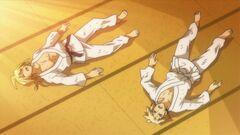 Zenkichi defeats Akune