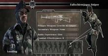 Fallschirmjaeger sniper
