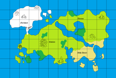 Map of Zorvath
