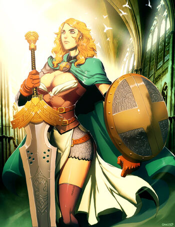 Emerald lady by genzoman-d39gjah