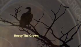 Heavy the crown