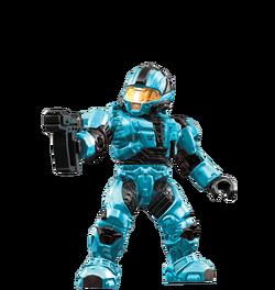 Cyan spartan
