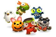 Halloween Character Gang