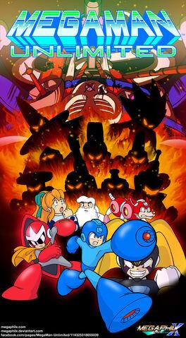 File:Mega Man Unlimited Official Art .jpg