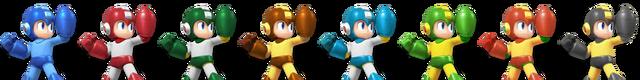 File:(SSB4) Mega Man palette.png
