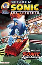 FCBD 2014 Sonic Cover