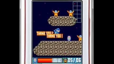 Mega Man Space Rescue