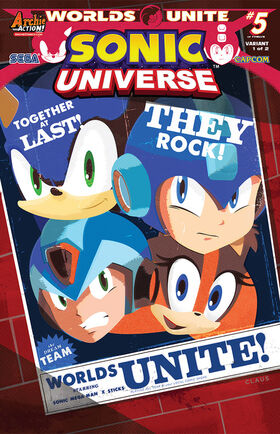 Sonic Universe -77 (variant)