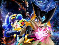 Rockman and Forte 2016 Wallpaper
