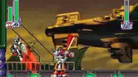 Megaman X4 - Zero vs