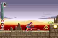 MMZ2 Blast Shot Explode