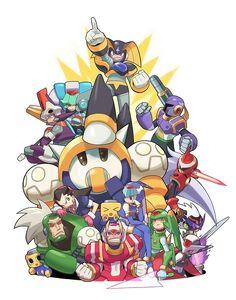 Megaman rivals