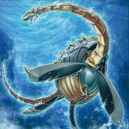 Foto mecha dragón marino plesion