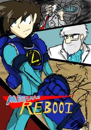 Mega Man REBOOT POSTER