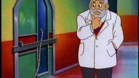 Mega Man - The mystery of the bathroom door