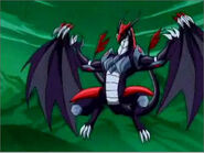 Tengu Shredder's Dragon Form