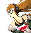 P5 SAKURA FUTABA EDITION package illustration by Shigenori Soejima