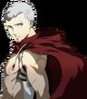 Akihiko portrait in Persona 4 Arena