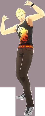 File:P4D Kanji Tatsumi summer outfit change.PNG