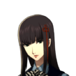 P5 portrait of Hifumi 's summer school uniform