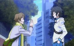 Hibiki meets Daichi
