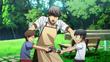 Yuta fighting Kanko over action figrue