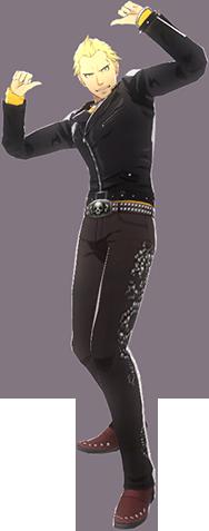 File:P4D Kanji Tatsumi winter outfit change.PNG