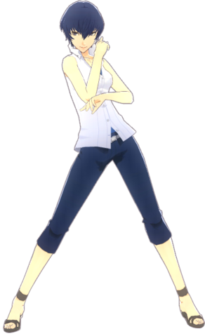 File:P4D Naoto Shirogane Summer Vacation Clothes (Limited Edition Included - DLC) change.png