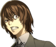 P5 portrait of Goro Shocked