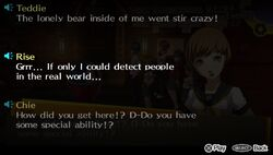 P4 characters cannot use Personas in the real world