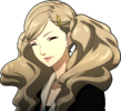 P5 portrait of Ann smiling