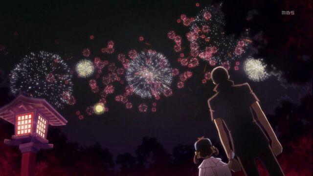 File:Nanako and Yu watching firework together.jpg