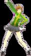 P4D Chie Satonaka winter school uniform change