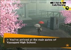 Persona 4 Yasogami High School