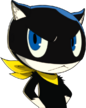 P5 portrait of Morgana Angry