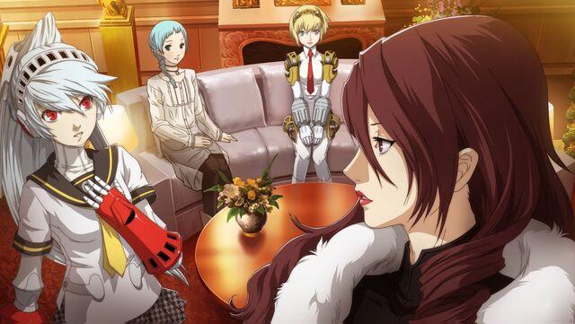 File:Mitsuru Kirijo (Persona 4 Arena, Story Mode Illustration, 3).jpg