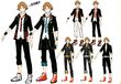 P4D Official Visual Visual Book Original Stage Costume for Yosuke, 02