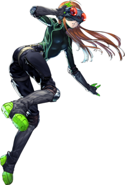 P5 Futaba Sakura, Phantom Thief