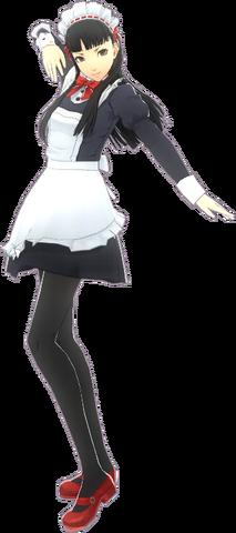 File:P4D Yukiko Amagi maid uniform.png