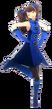 P4D Rise Kujikawa deep blue clothes