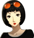 P5 portrait of Ichiko Oya