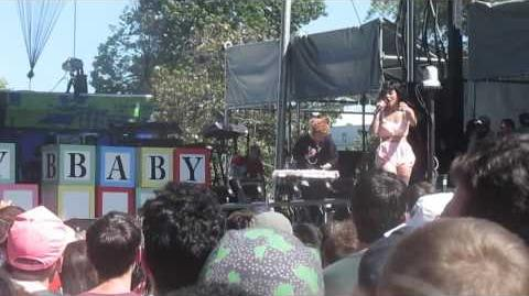 Melaine Martinez- Its my party at Capital Pride 2016