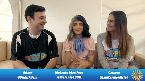 PST Summer Bash interview with Melanie Martinez