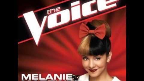 """Melanie Martinez """"Lights"""" - The Voice (Studio Version)"""
