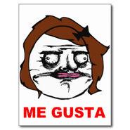 Ybrown female me gusta comic rage face meme postcard-ra174a0fbd66a4d8098a6fb3fcda7dc5b vgbaq 8byvr 324